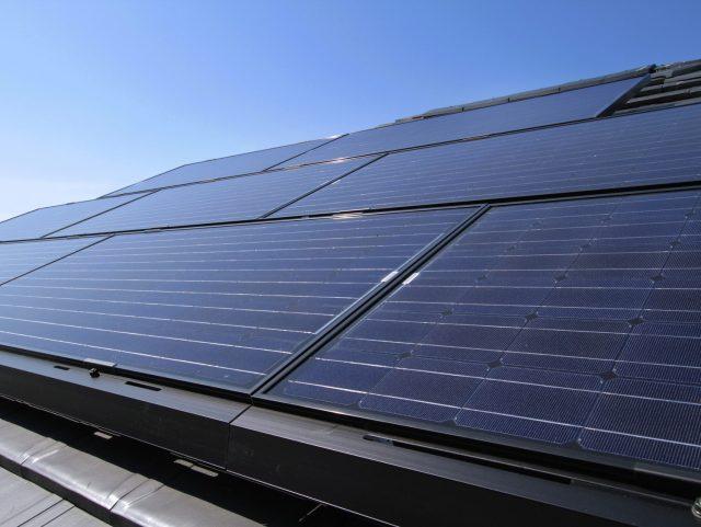 ソーラーパネル設置施工